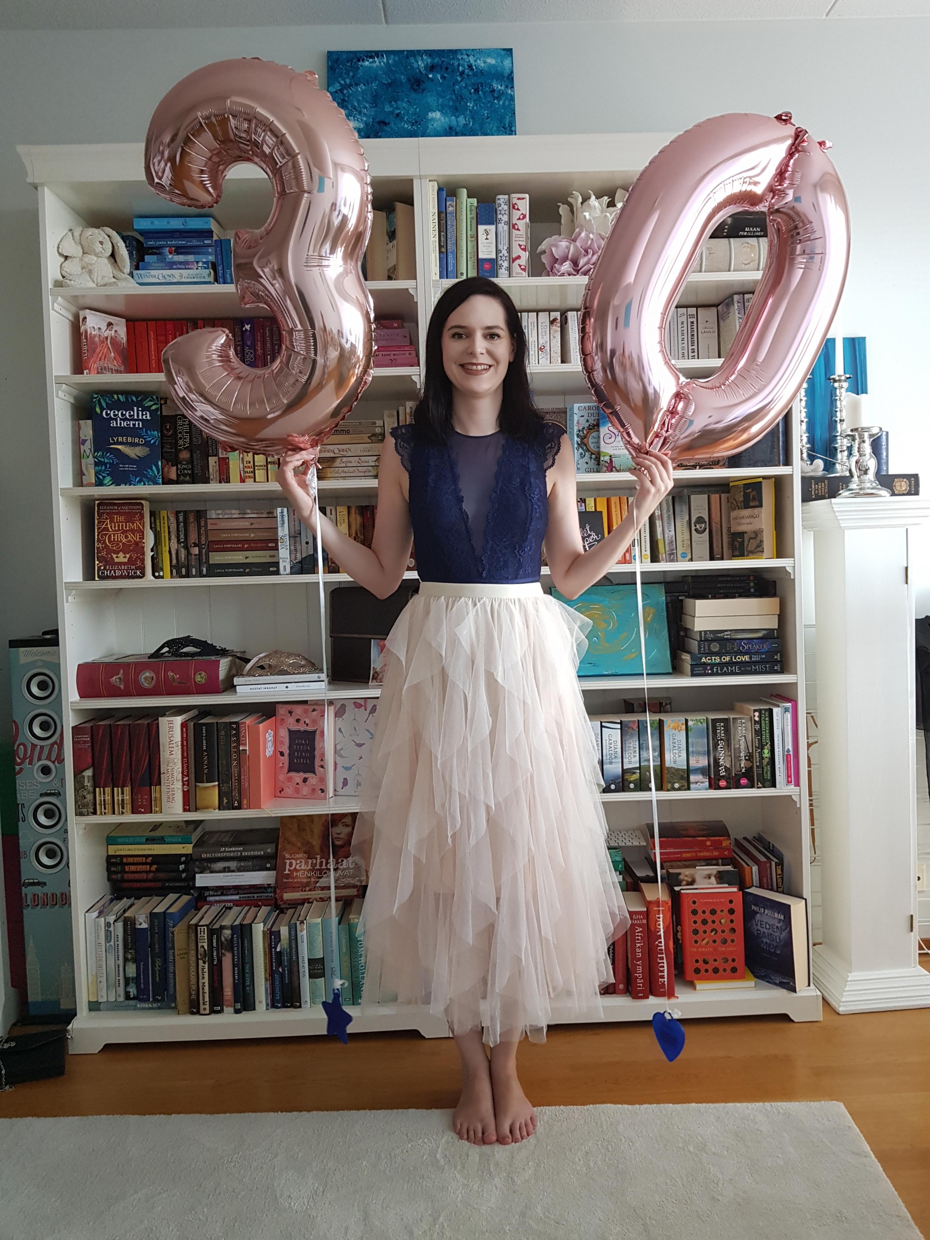 Hyvää 30-vuotissyntymäpäivää Tiina!